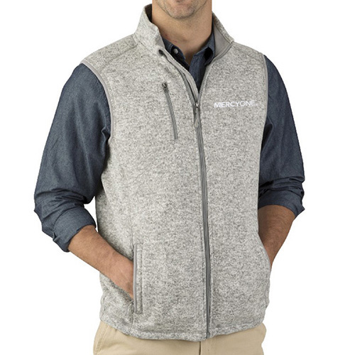 Charles River Men's Pacific Heather Vest