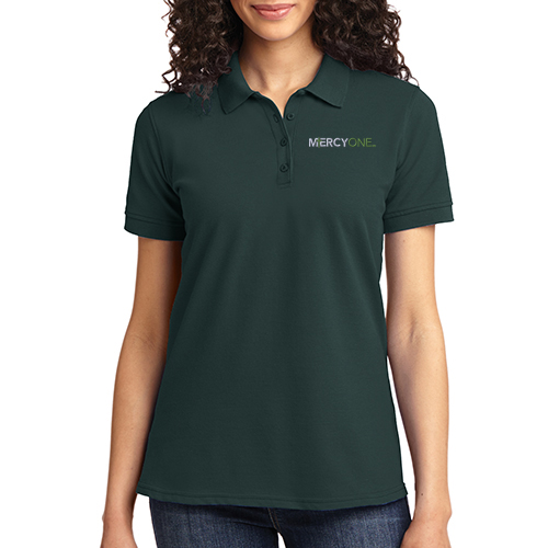 Port & Company Women's Core Blend Pique Polo