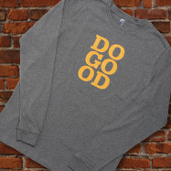 Do Good Long Sleeve Tee