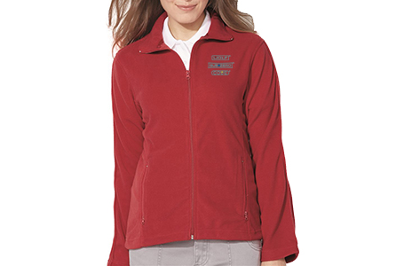 FeatherLite Ladies' Moisture Resistant Microfleece Full-Zip Jacket
