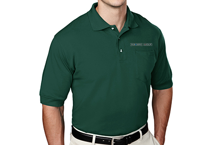 TriMountain TALL Pique Knit Polo with Pocket
