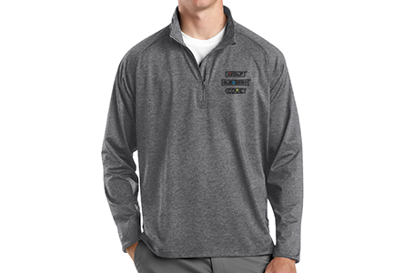 Sport-Tek Men's Sport-Wick Stretch 1/2-Zip Pullover