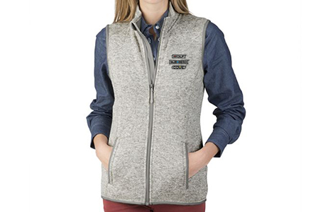 Charles River Ladies Pacific Heathered Vest