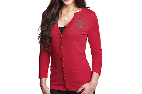 TriMountain Ladies Button-Down Cardigan