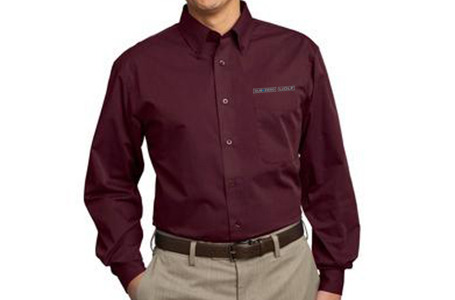 Port Authority TALL Tonal Pattern Button Down
