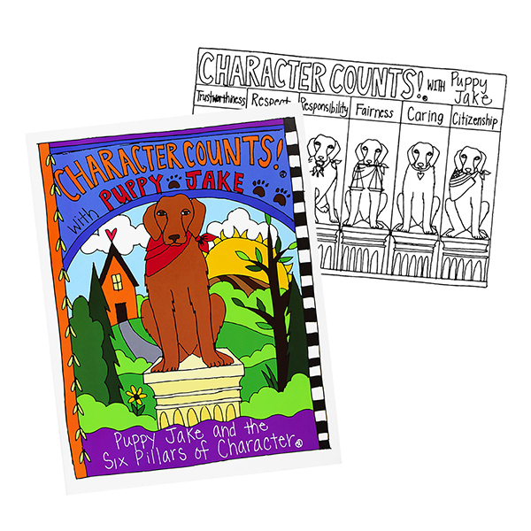 Puppy Jake Coloring Book