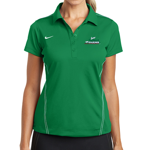 Nike Women's Dri-FIT Sport Swoosh Pique Polo