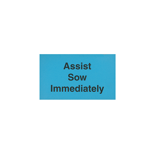 FOC: Assist Sow Immediately - Pads