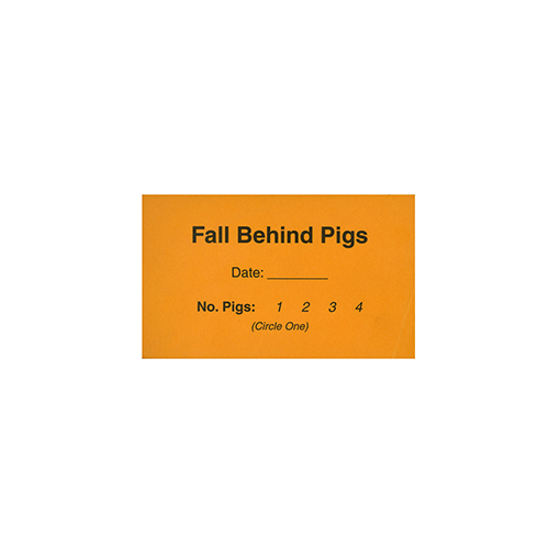 BOC: Fall Behind Pigs - Pads