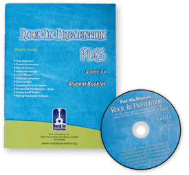 Rock In Prevention PLUS Student Booklet Kit for Grades 3-4