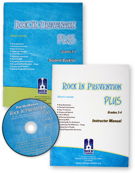 Rock In Prevention PLUS Starter Kit for Grades 3-4
