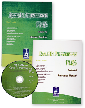 Rock In Prevention PLUS Starter Kit for Grades 4-5