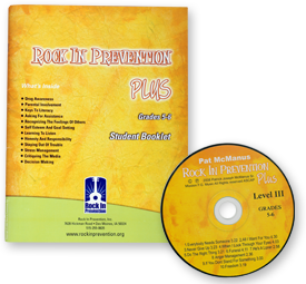 Rock In Prevention PLUS Student Booklet Kit for Grades 5-6