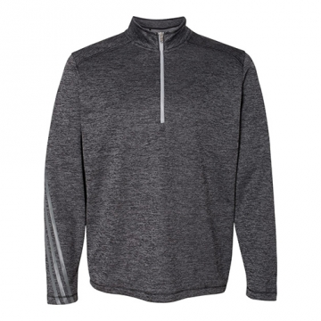 Adidas Men's Brushed Terry Heather 1/4-Zip