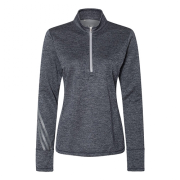Adidas Women's Brushed Terry Heather 1/4-Zip